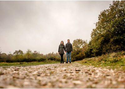 Lauren and Damien's Pre-Wedding Engagement Shoot in Sutton Coldfield