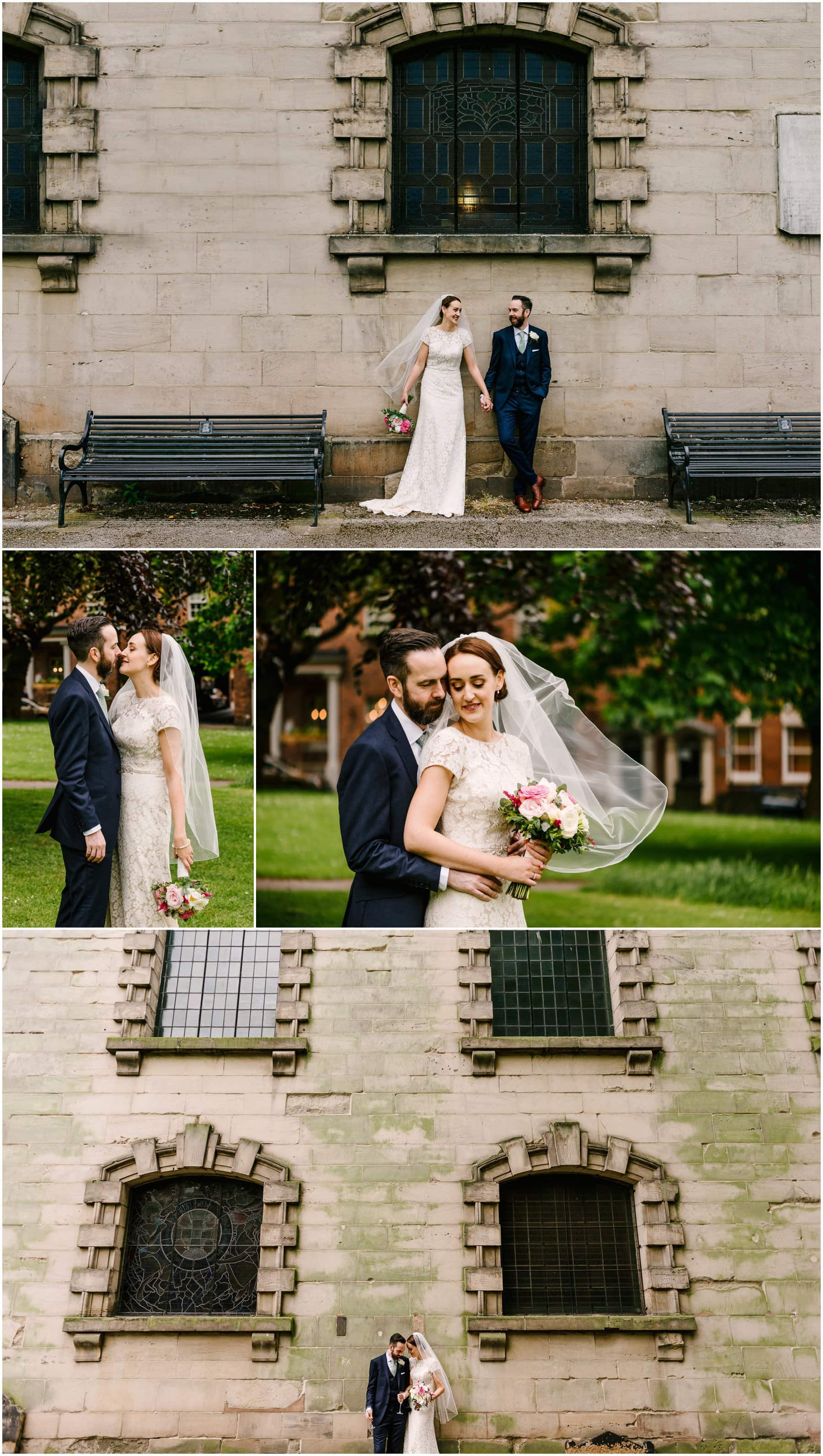 Helen And Dans Beautiful Birmingham City Wedding At The Studio