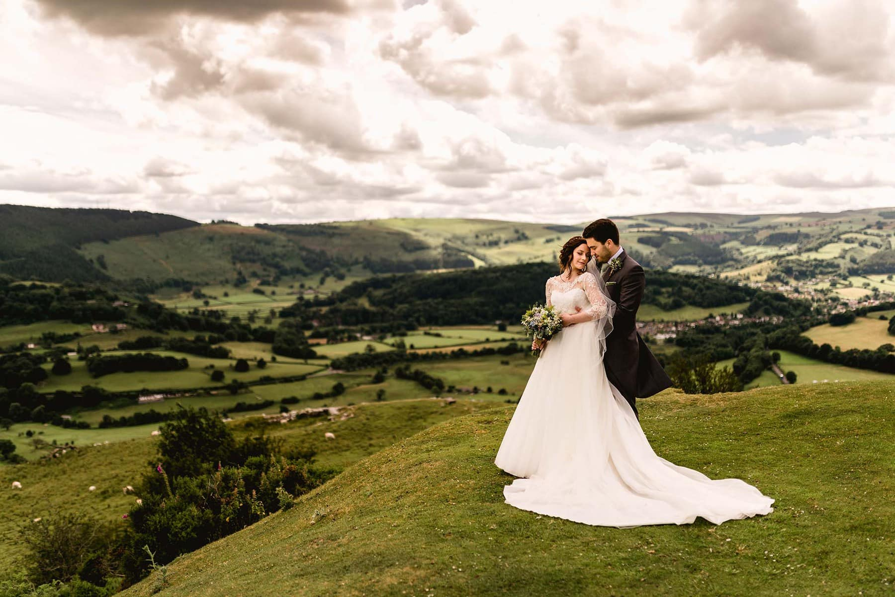 Ffion and Hefin's Wedding at Tyn Dwr Hall in Wales