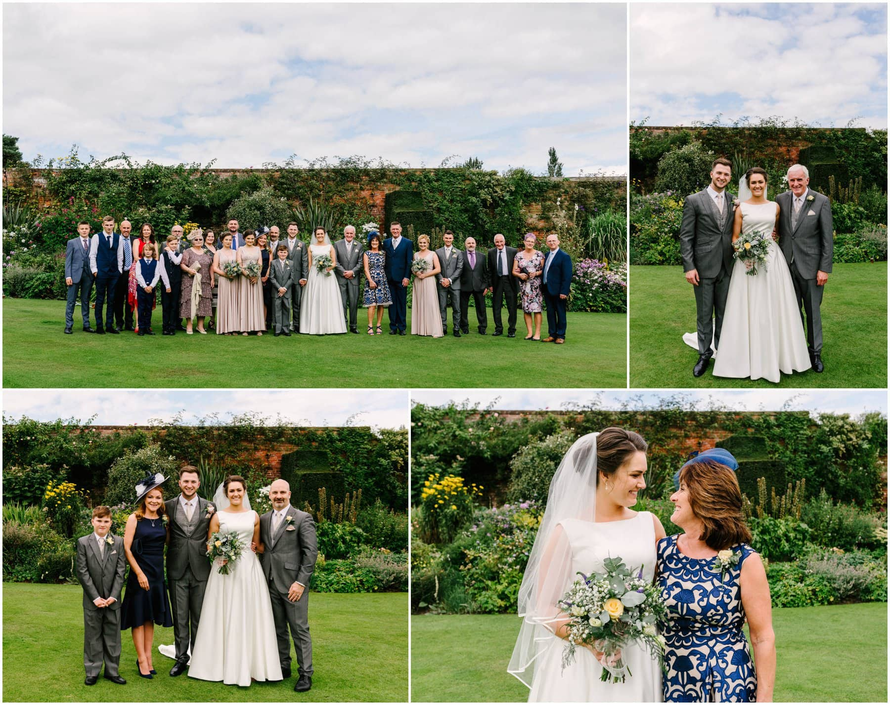 Goldstone Hall Wedding with photos by West Midlands Wedding Photographer Lisa Carpenter Photography.