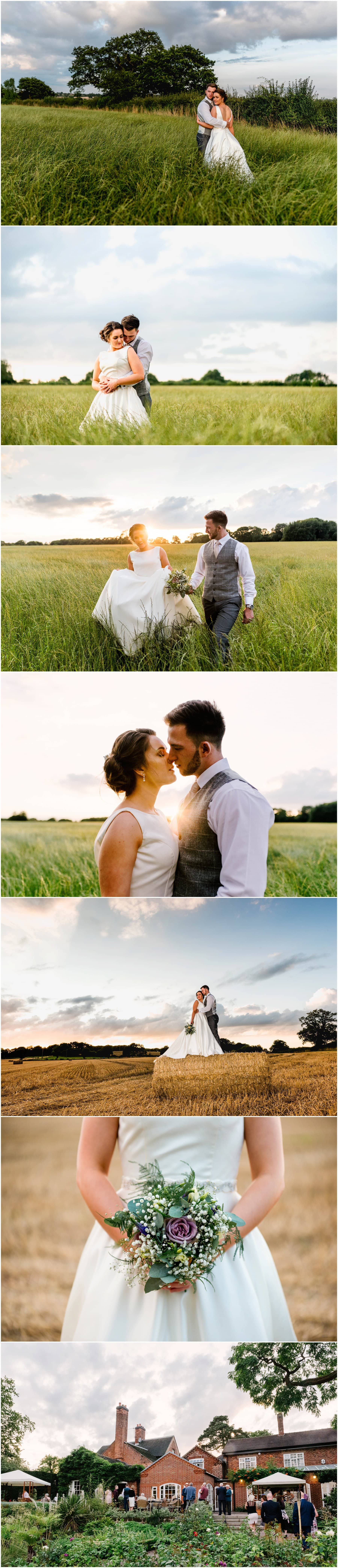Goldstone Hall Wedding with photos by West Midlands Wedding Photographer Lisa Carpenter Photography.