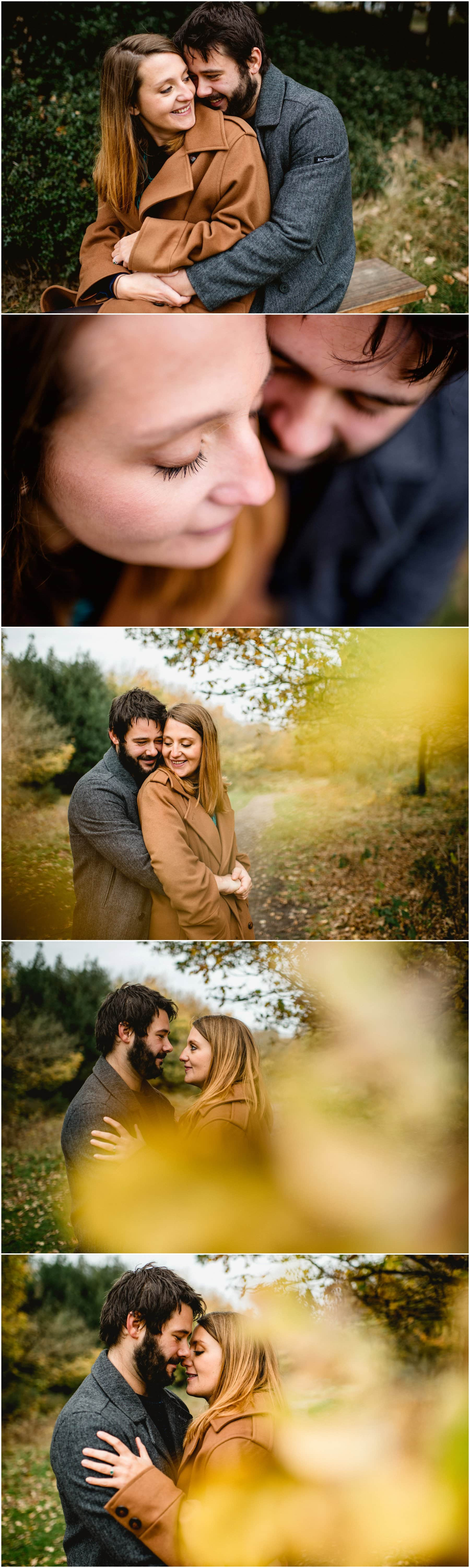Engagement Shoot in Sutton Park, Sutton Coldfield with Jenna and Ben ahead of their Devon wedding at Ash Barton Estate with photos by Lisa Carpenter Photography, West Midlands and Birmingham Wedding Photographer
