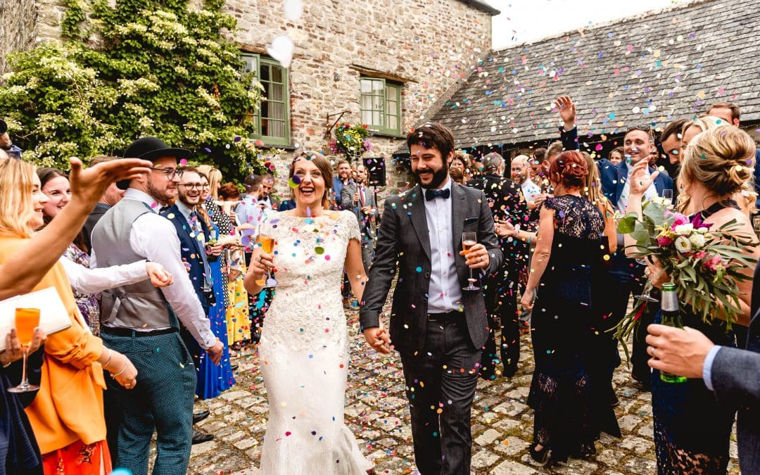 Ash Barton Estate Wedding in Devon with Jenna and Ben