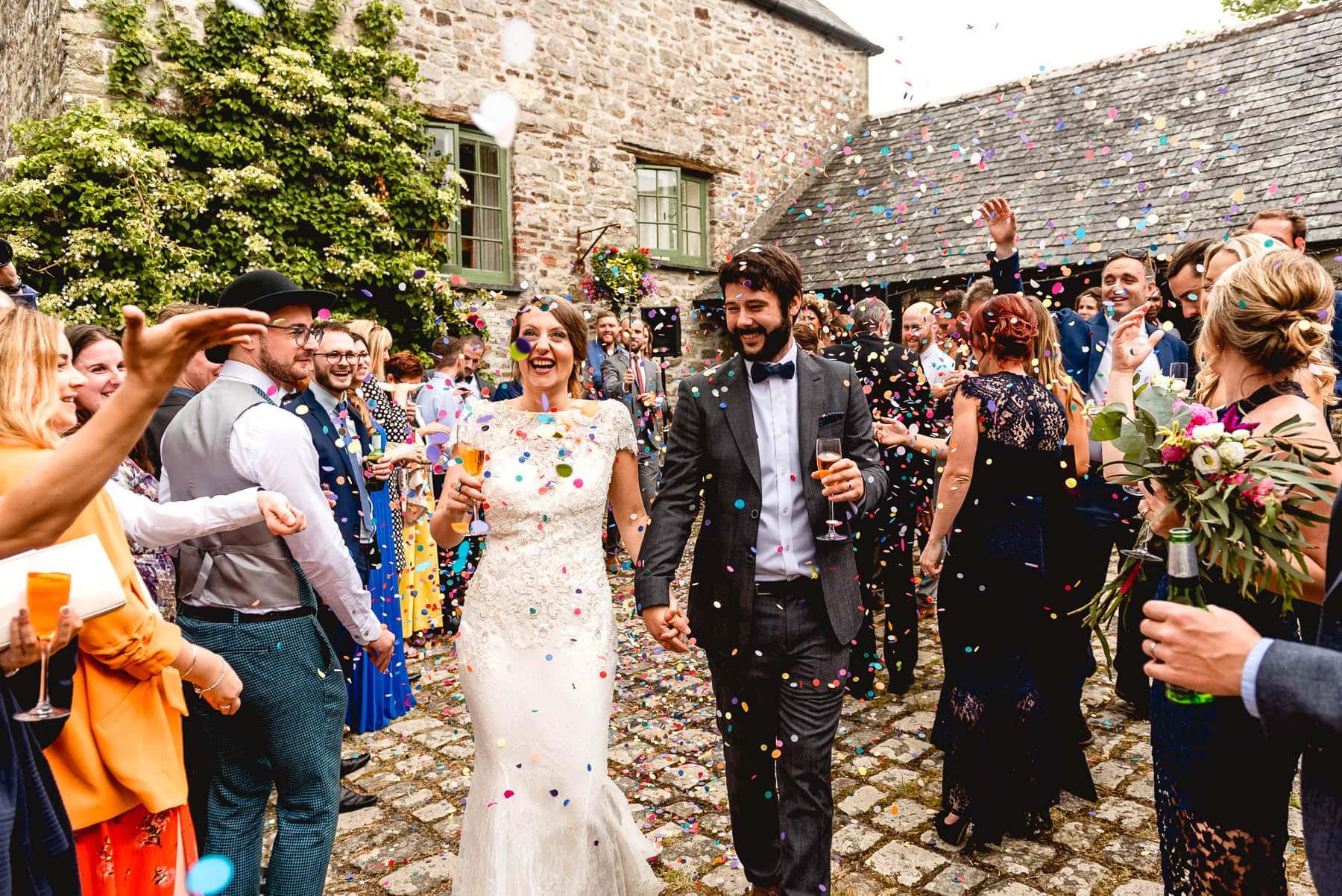 Ash Barton Estate Wedding in Devon with Jenna and Ben