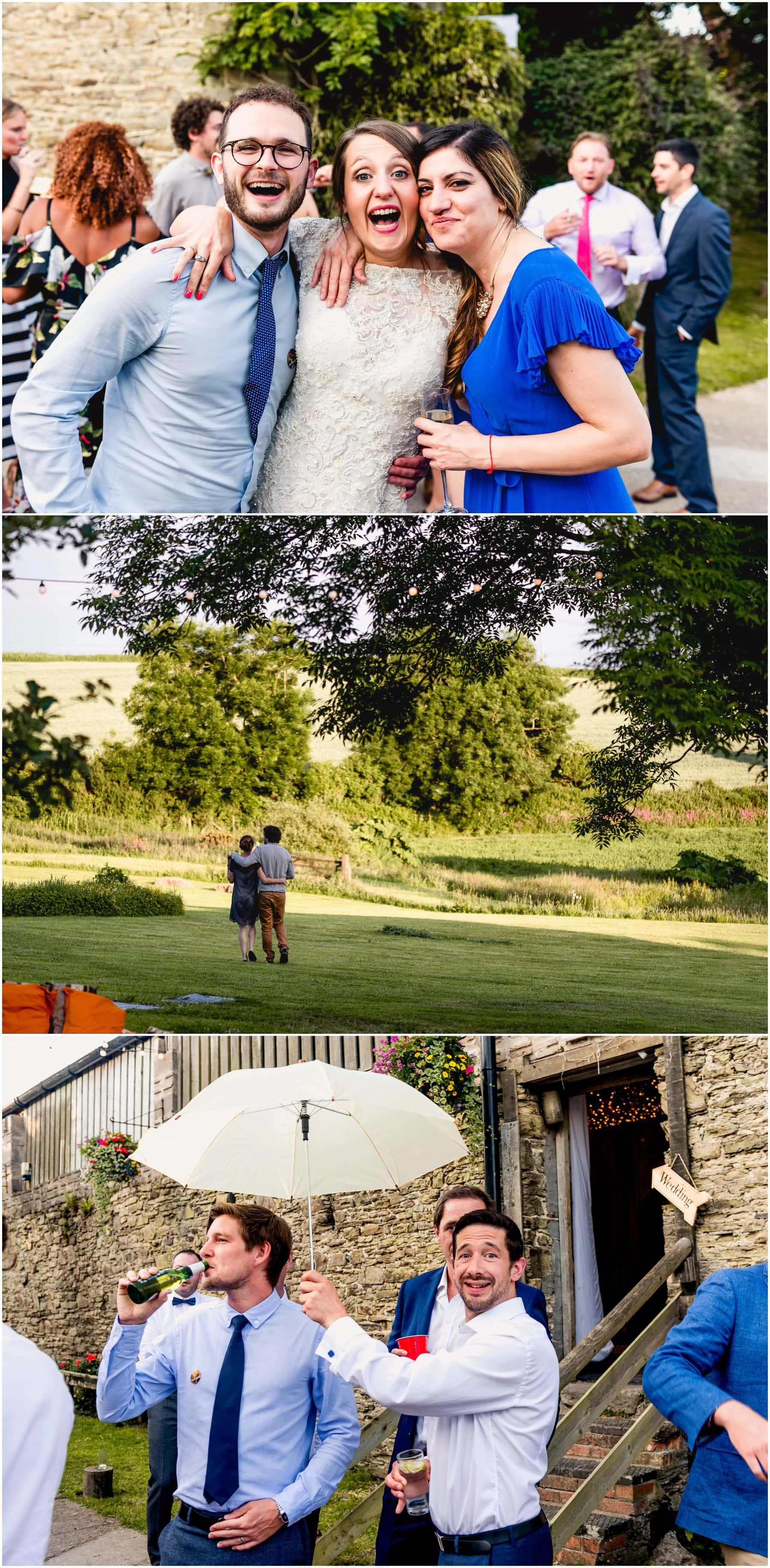 Guest photos at Jenna and Ben's wedding.