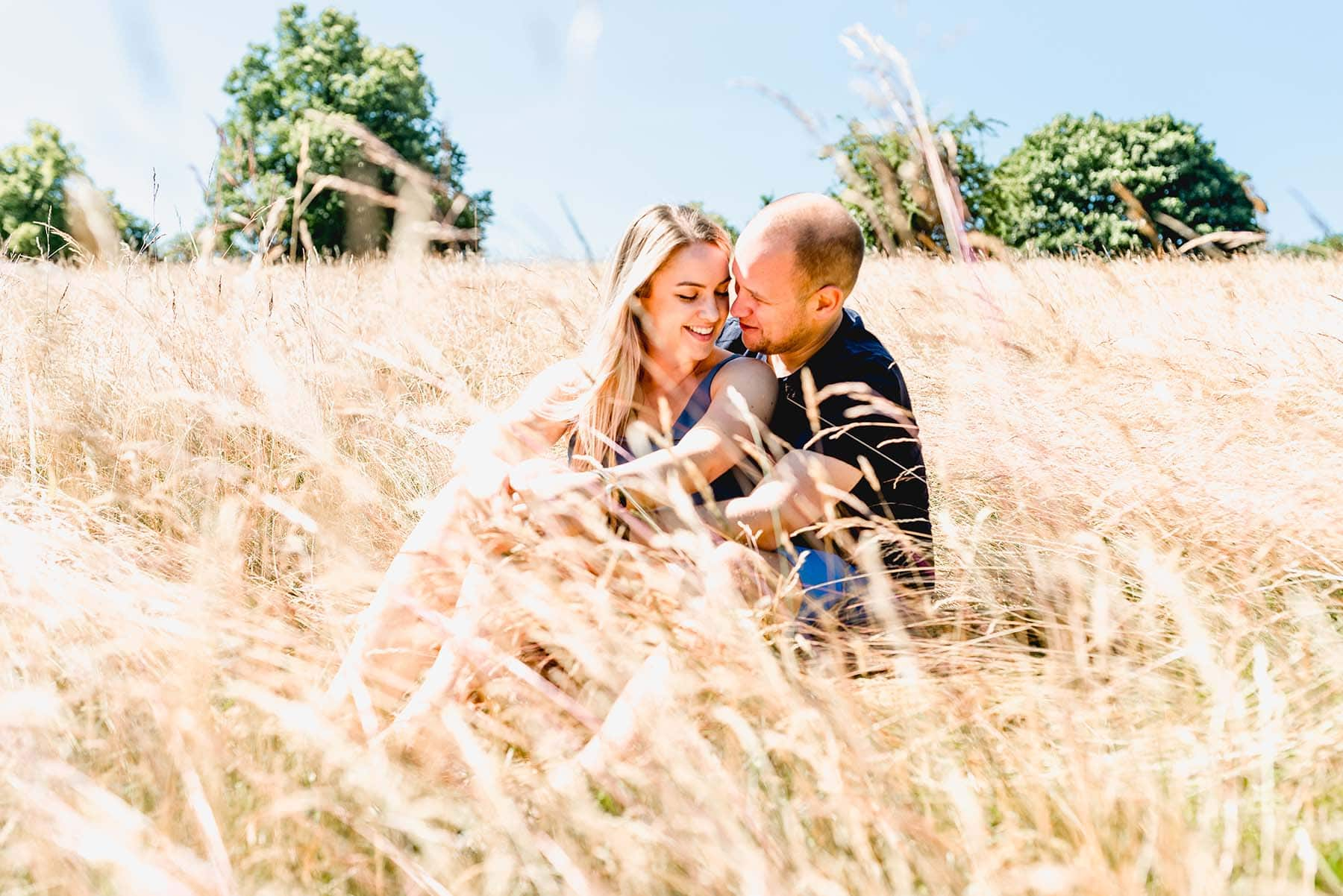 Sutton Park Engagement Shoot with Sadie and James