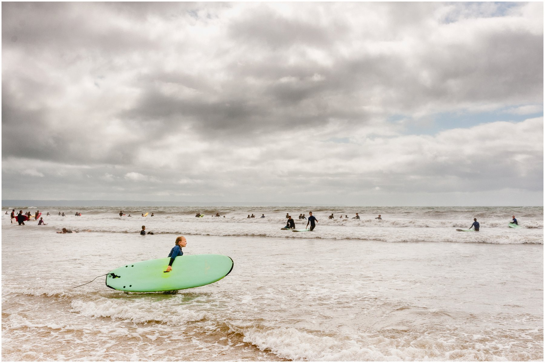 Surfing in Croyde with Surf South West